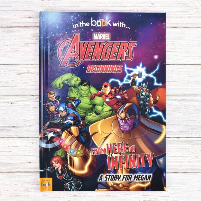 Avengers Beginnings from Here to Infinity - Hardback