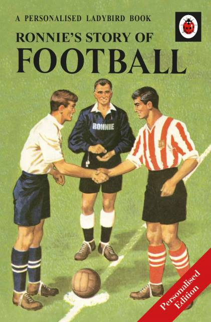 Football: A Ladybird Personalised Book