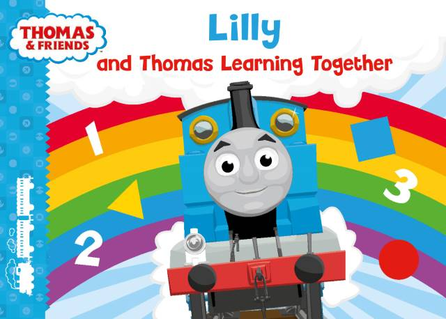 Me and Thomas Learning Together Board Book for Babies