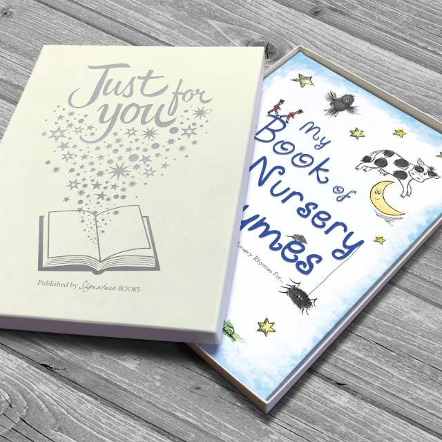 Personalised My Book of Nursery Rhymes Softback Book