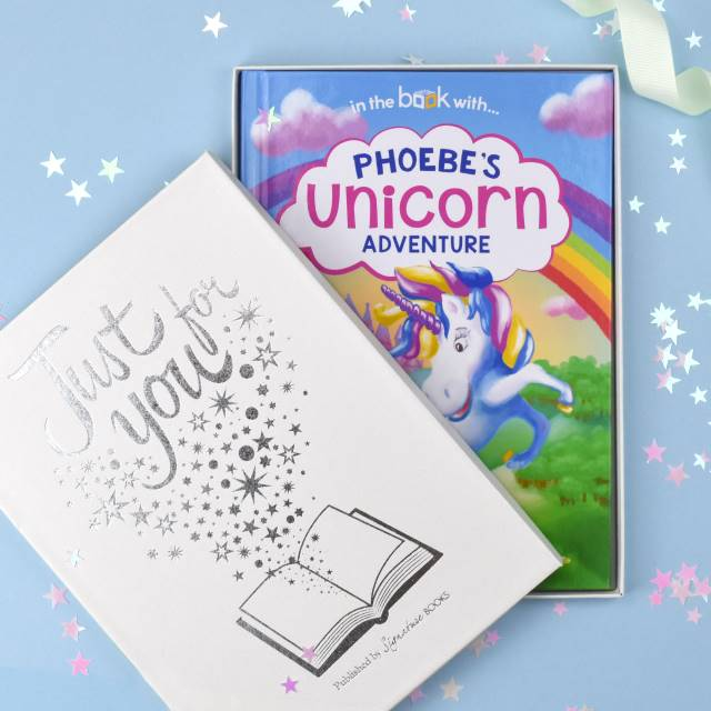 Personalised Unicorn Book - Softback