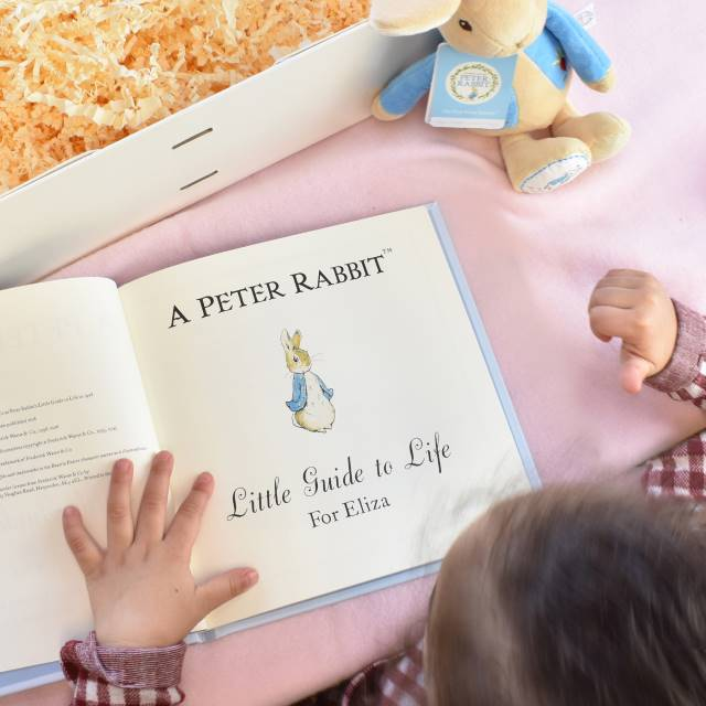 Peter Rabbit Guide to Life Plush Toy Giftset