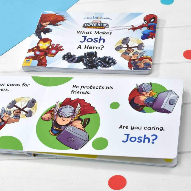 What Makes Me a Hero Board Book