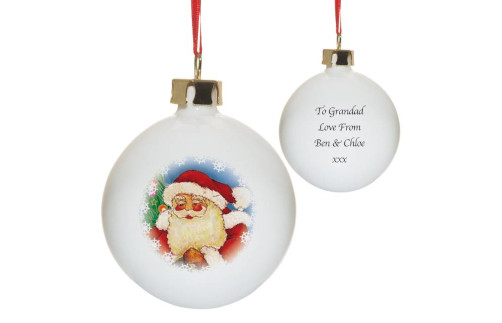 Personalised Baubles Image