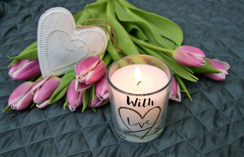Personalised Candles Image