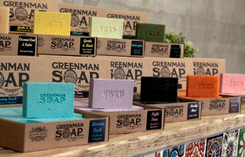 Greenman Soaps Category Image