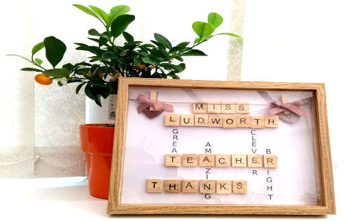 Personalised Scrabble Frames Category Image