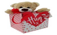personalised richard the teddy bear in a box