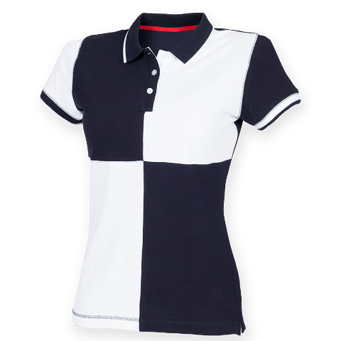 Front Row Ladies Quartered Tagless House Polo Shirt