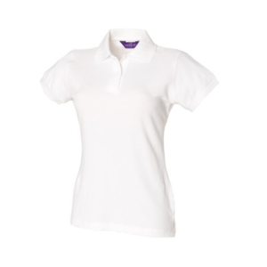 Henbury Ladies Stretch Pique Polo Shirt