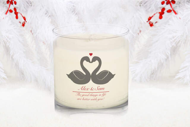 Animal Silhouette Vanilla Scented Candle