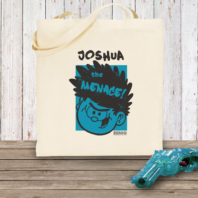 Beano Big Heads Dennis Tote Bag