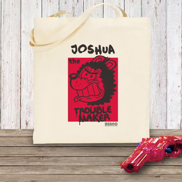 Beano Big Heads Gnasher Tote Bag