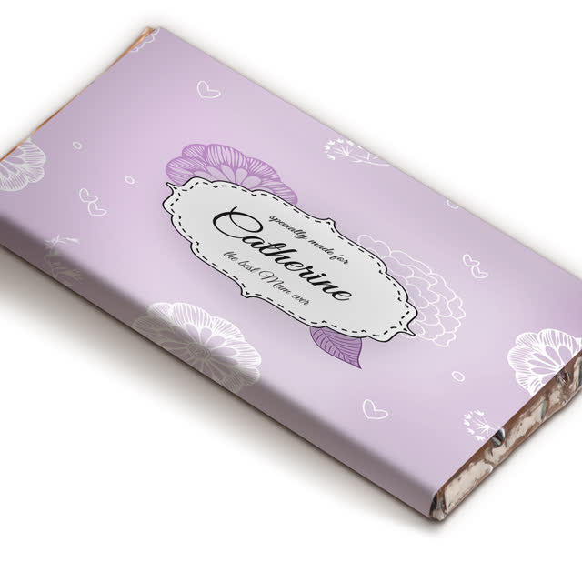 Best Ever Floral Chocolate Bar