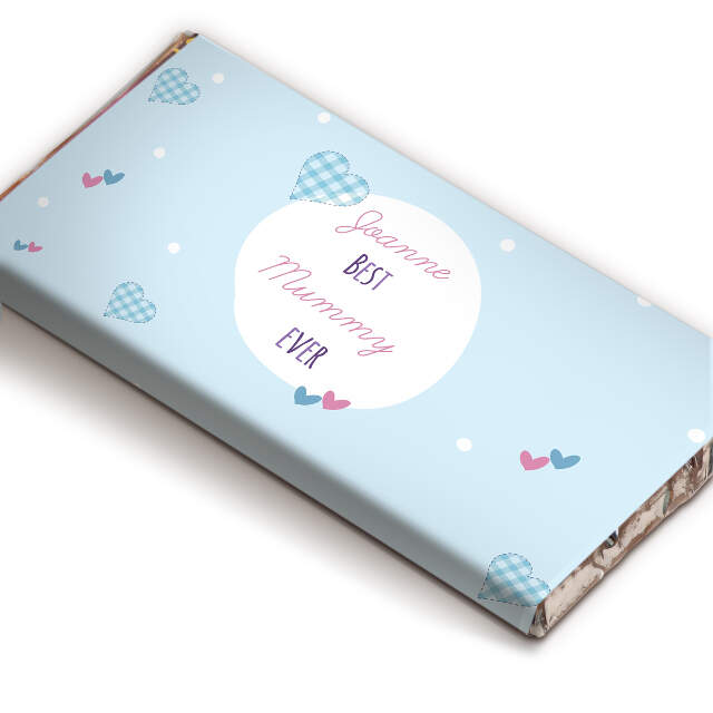 Best Ever Gingham chocolate bar