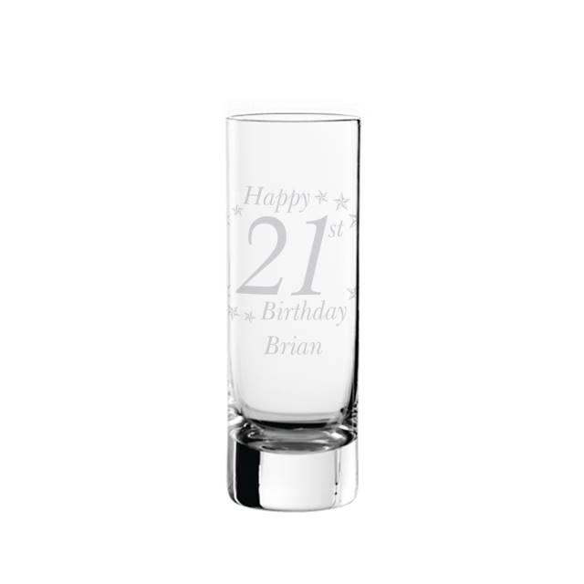 Birthday Age Shot Glass