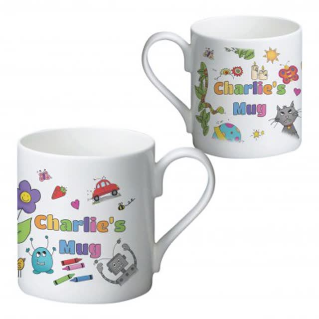Cartoon Character Children's Mug
