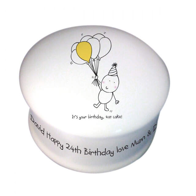 Chilli & Bubble's Birthday Trinket Box
