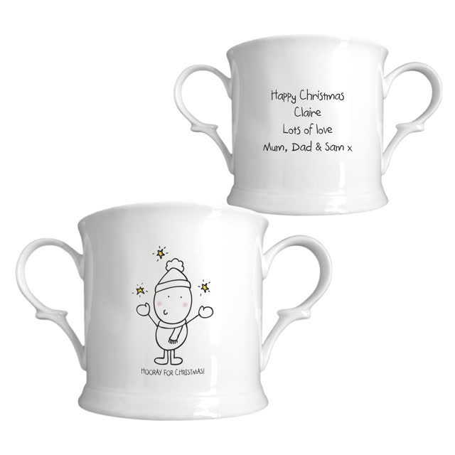 Chilli & Bubble's Generic Christmas Mug -Loving Cup