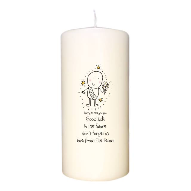 Chilli & Bubble's Leaving Candle