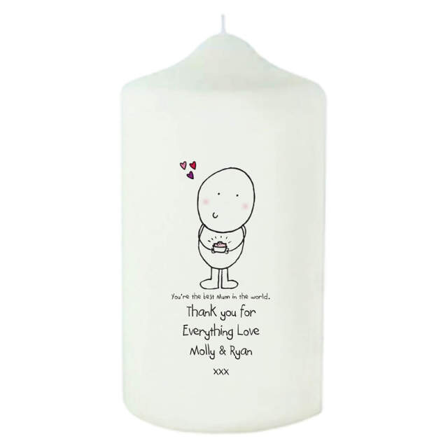 Chilli & Bubble's Mother's Day Candle