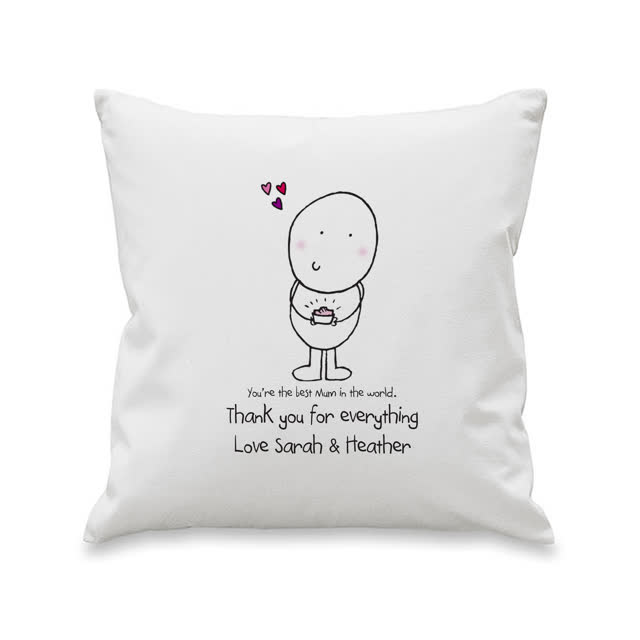 Chilli and Bubbles Mother's Day Cushion Cover