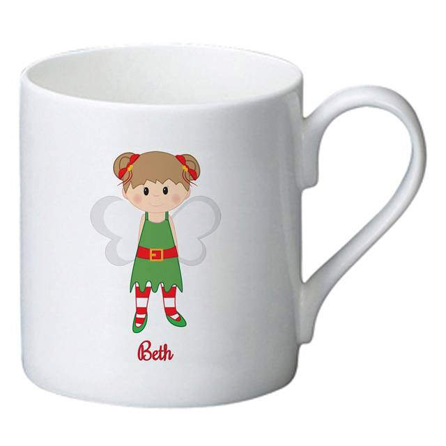 Christmas Pixie Bone China Mug