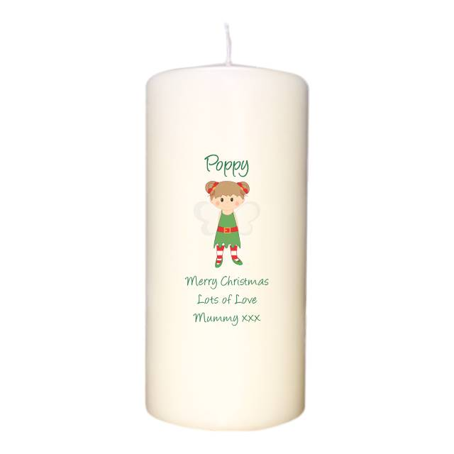 Christmas Pixie Candle