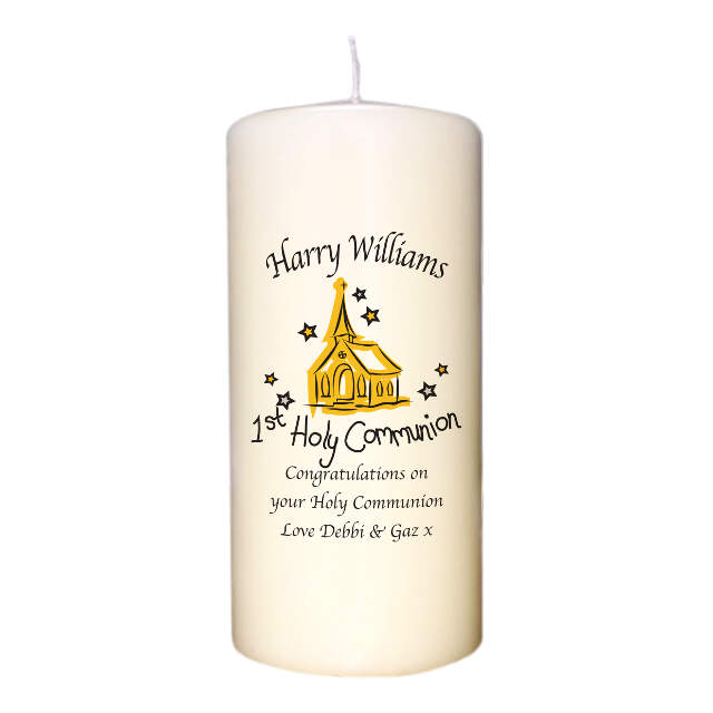 Church Communion Candle
