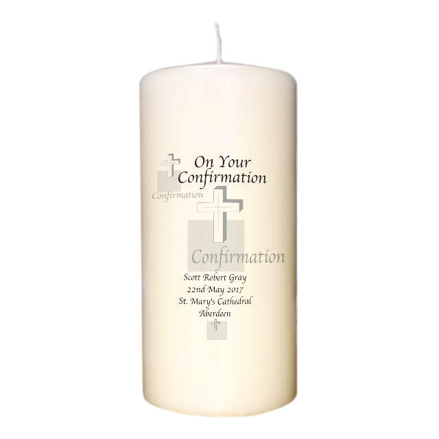 Confirmation Cross Candle