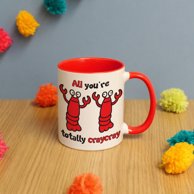 Cray Cray Red Inside Mug