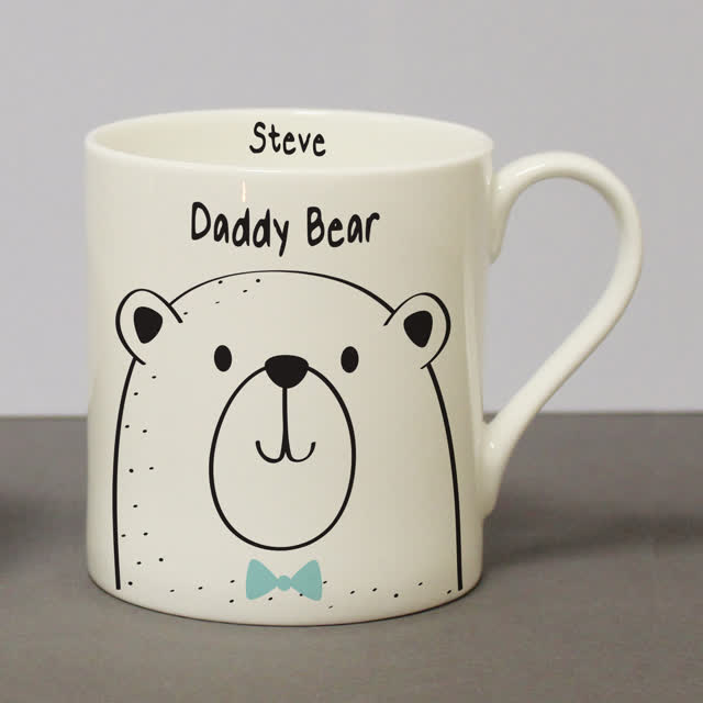 Daddy Bear Large Balmoral Mug