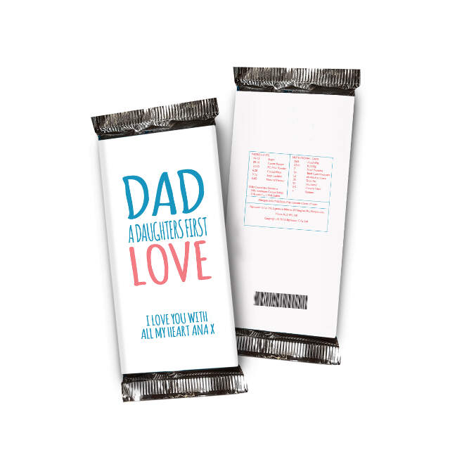 Daughters First Love Chocolate Bar White