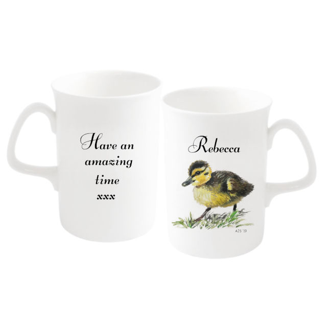 Duckling Bone China Mug By Amanda Steart