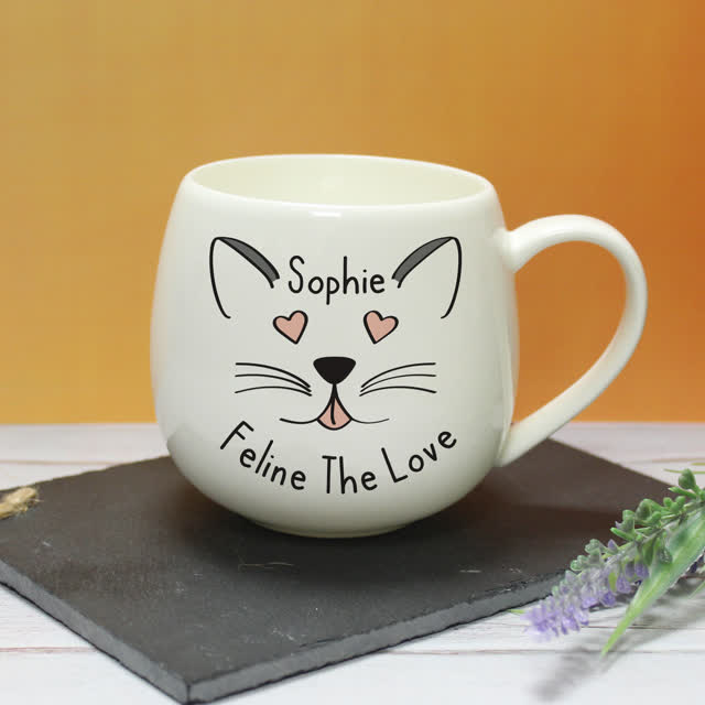 Feline The Love Hug A Mug