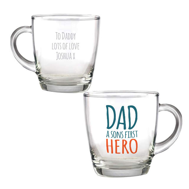 First Hero Glass Mug