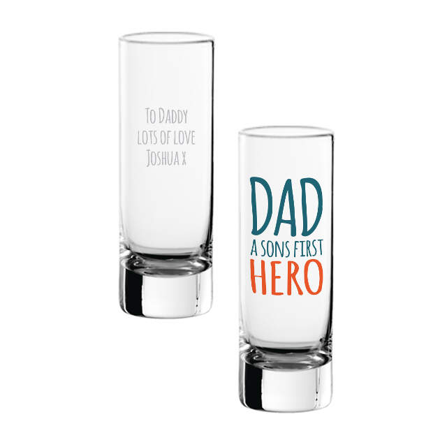 First Hero Shot Glass