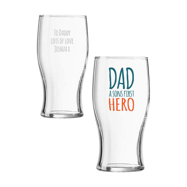 First Hero Tulip Glass
