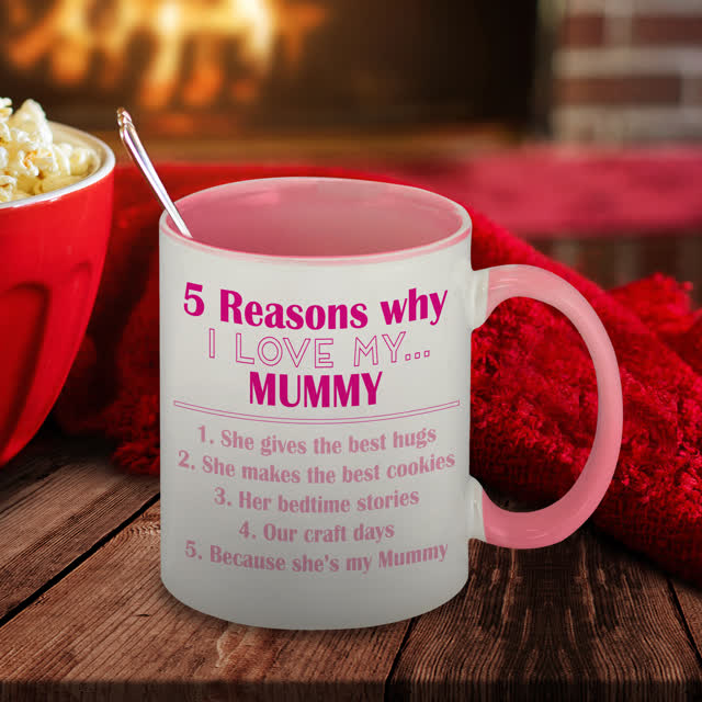Five Reasons Why Pink Sublimation Mug