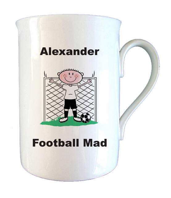 Footy Mad Bone China Mug
