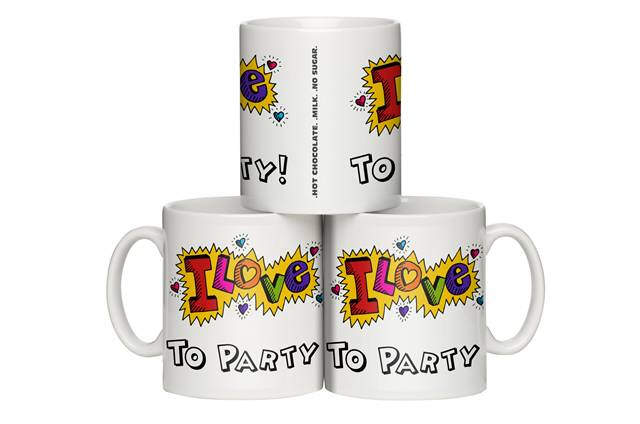 Funky Love? Design Personalised Mug
