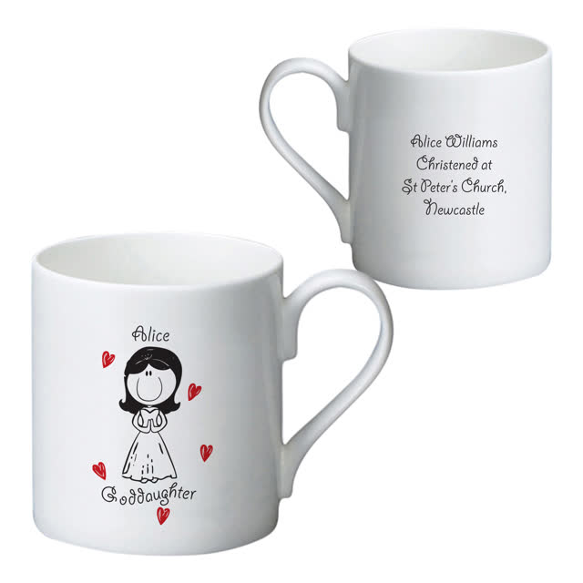 Graffiti Goddaughter Bone China Mug