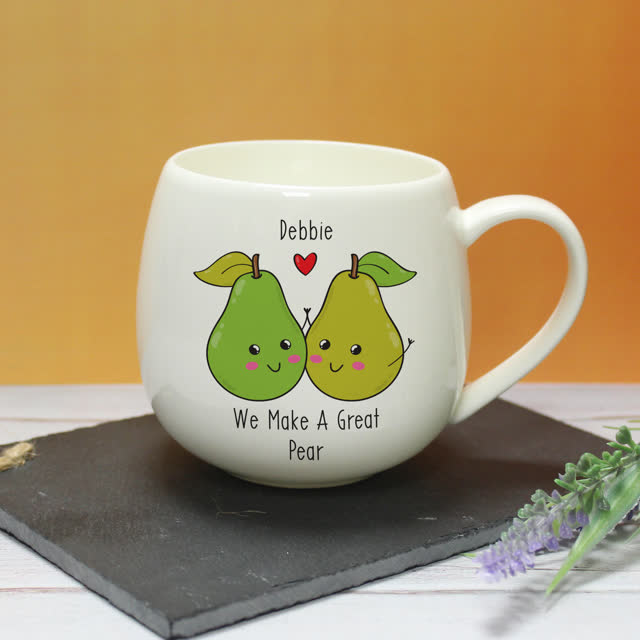 Great Pear Hug A Mug