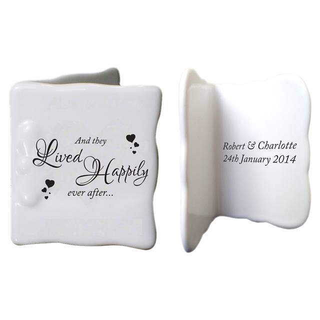 Happily Ever After Bone China Message Card