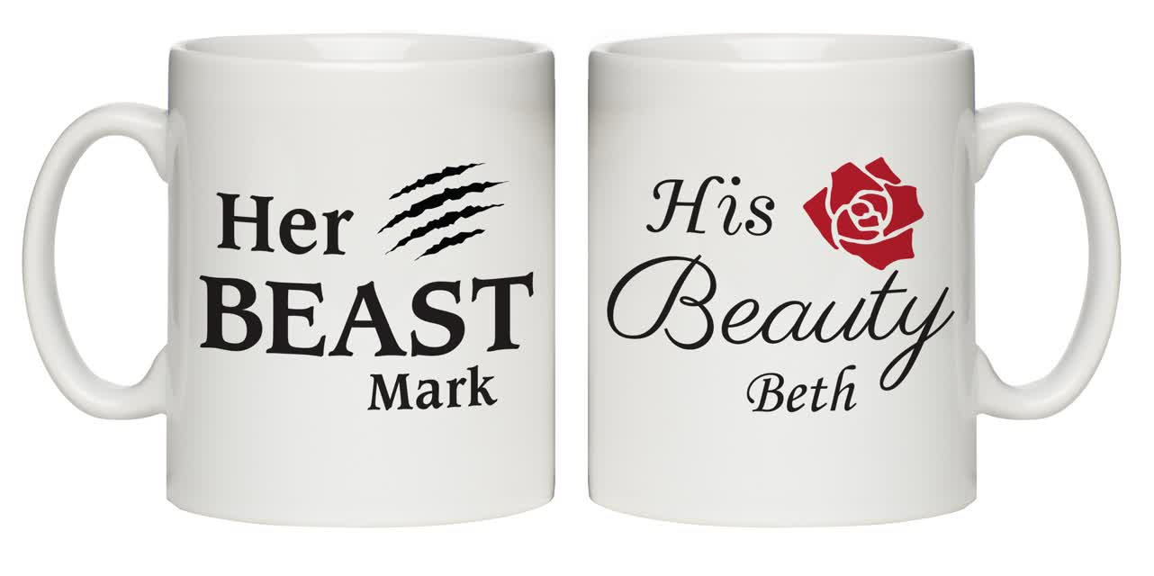 Her Beast & His Beauty Mug Set