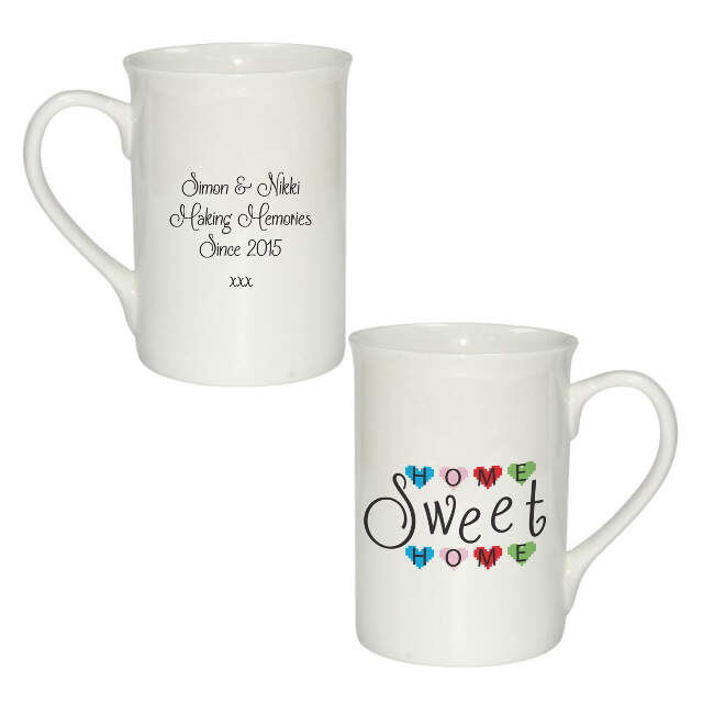 Home Sweet Home Windsor Mug