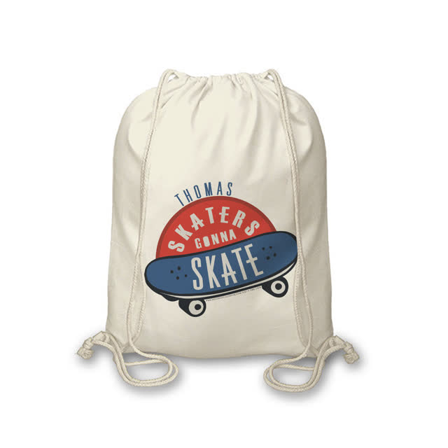 Hotchpotch Skaters Gonna Skate Drawstring Bag