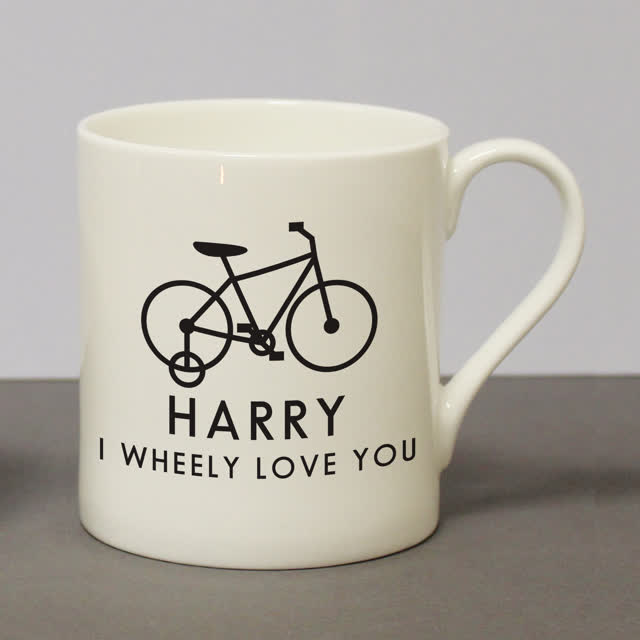I Wheeley Love You Childs Bike Balmoral Mug