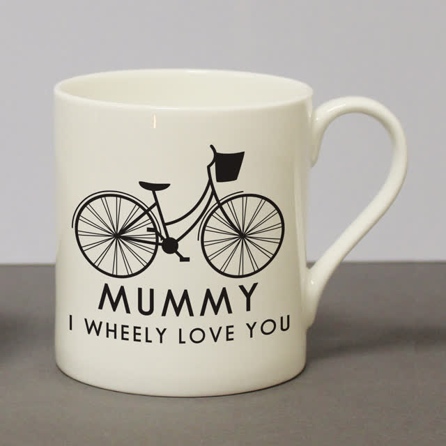 I Wheeley Love You Female Bike Chunky Balmoral Mug
