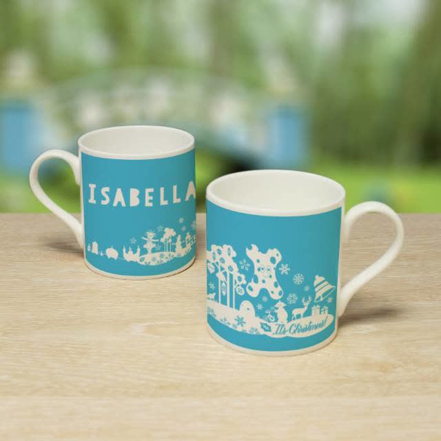 In The Night Garden Christmas Balmoral Mug
